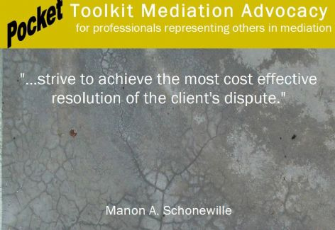 Pocket Toolkit Mediation Advocacy